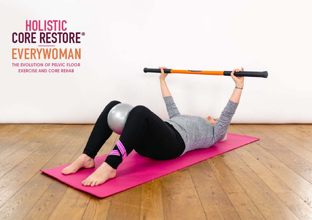 Woman excersise hcr